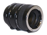 Sony/Minolta Extension Tubes