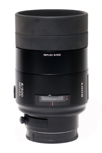Sony 500mm f8 Mirror