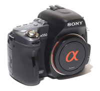 Sony Alpha 550 Camera Body